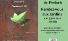 4 & 5 juin :  Rendez-vous aux Jardins  & Visite passion: La Maison Zuber ou l'art de mêler botanique et exotisme
