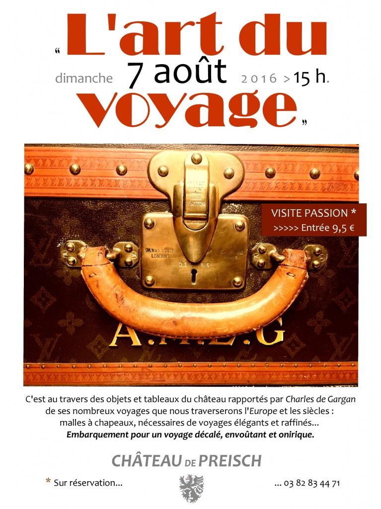 """Visite passion : """"L'art du voyage"""""""