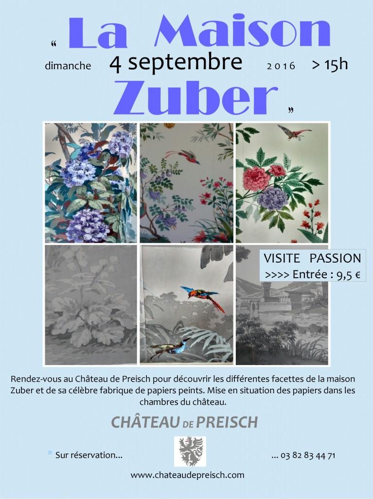 Visite passion : La Maison Zuber
