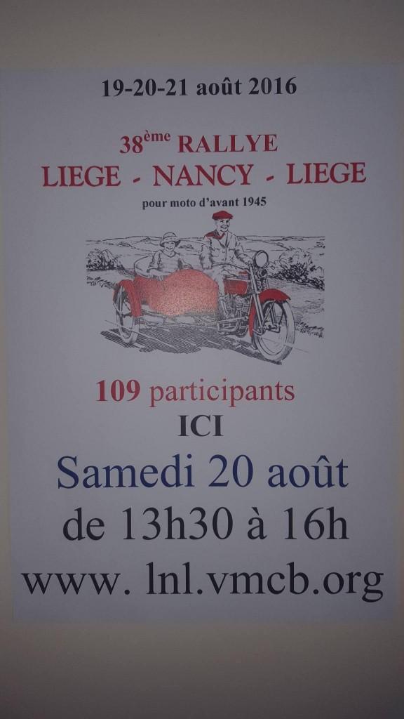 affiche rallye moto