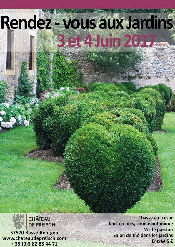 Rendez vous aux jardins 3 et 4 juin ch teau de preisch for Rendez vous des jardins