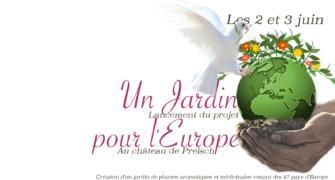 Un jardin pour l'Europe