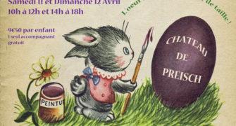 ANNULATION 11 et 12 avril – Grande chasse aux œufs