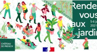 5 et 6 juin 2021 – Rendez-vous aux jardins
